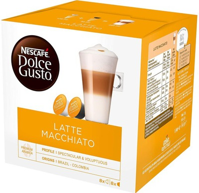 капсулы Nescafe Dolce Gusto Латте Макиато 16