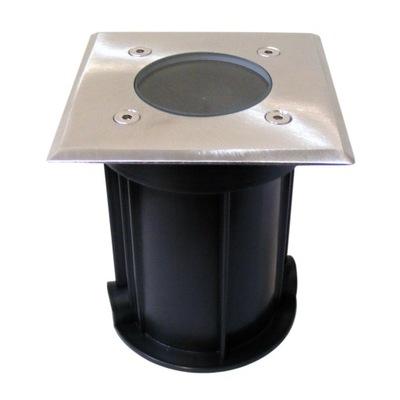 ЛАМПА светильник для сада диаметр встроенный свет квадрат
