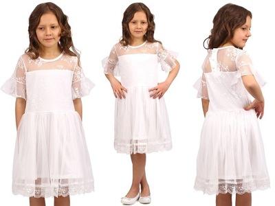 162abbe9c1 Sukienka komunia - Strona 4 - Allegro.pl - Więcej niż aukcje. Najlepsze  oferty na największej platformie handlowej.