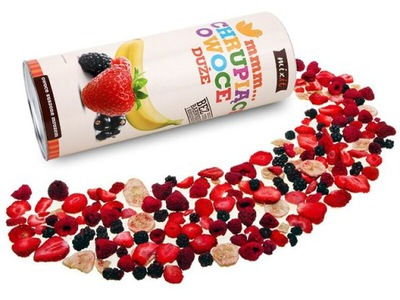 фрукты лиофилизированные MIXIT клубника малина 150г