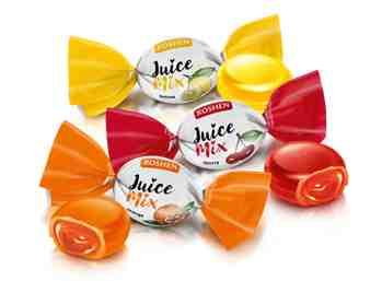 Конфеты Juice микс Roshen 1кг