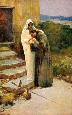 Открытка Легенда о Матери Божьей P. Stachiewicz