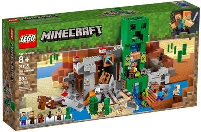 21151 LEGO MINECRAFT bane Creeperów 21155
