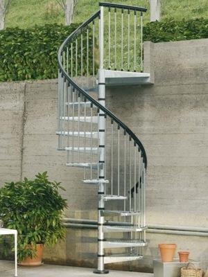 Лестница Внешние Вьющиеся ЦИНК C Диаметр 120 см