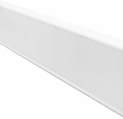 Планка напольного типа КОРНЕР EVO белая