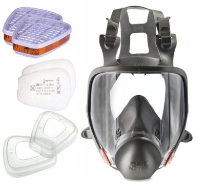 półmaska маска краска 3M всего комплект 6800