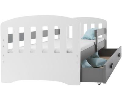 кровать HAPPY для детей 160x80 + перила +матрас
