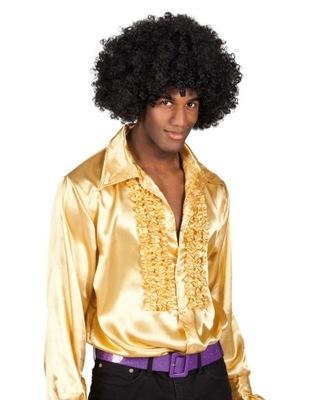 Strój Koszula Disco ZŁOTA z falbanami 02163 XL