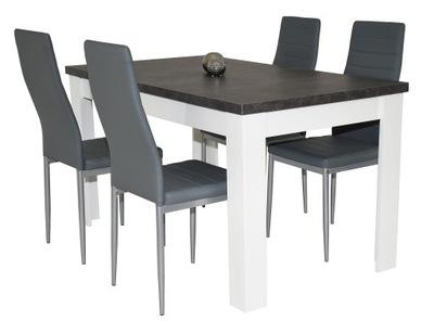 комплект стол 80 /140  ???  180 и 4 стулья из эко кожи