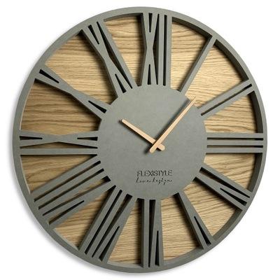 Большой тихий часы instagram Серый РОМАН чердак 50cm