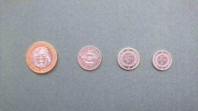 Камбоджа комплект menniczy 4 Монеты