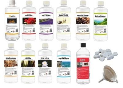 SADA 11 rôznych AROMATICKÝCH vonia BIOPALIVÁ