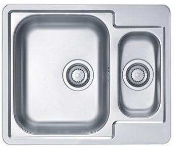 Umývadlo jeden-časť ocele ALVEUS RIADOK 50 sifón