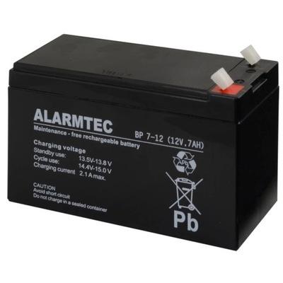 Akumulator ŻELOWY ALARMTEC BP 7-12 (12V 7Ah)