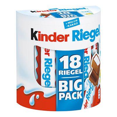 Батончик Kinder Riegel мега пакет 18 штук, из Германии