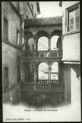 Brigue - Шато-де-Стокальпер - Corbaz 1903 ???