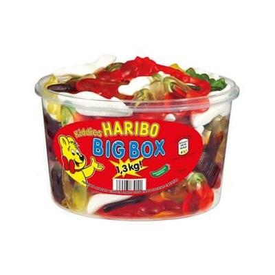 Haribo Мишки гамми BIG BOX  1 ,3 кг 1 кг + 300 Г