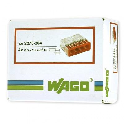 Rýchle konektor Wago 2273 4x2,5 original 100ks