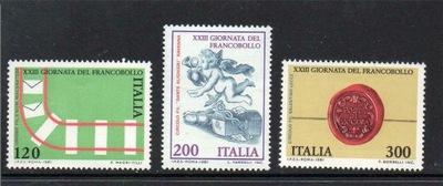 Италия 1981 Марки Мне 1784-6 ** очередь ангел
