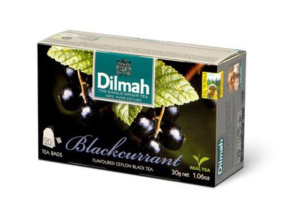 Dilmah чай черная , черная Смородина 20 x 1 .5g