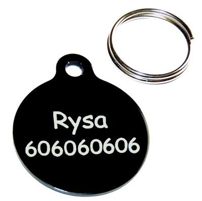 металлический ИДЕНТИФИКАТОР adresówka для собаки или кошки.
