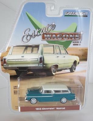 GreenLight 1 : ?????????? четыре EW3 - Chevrolet Nomad 1955