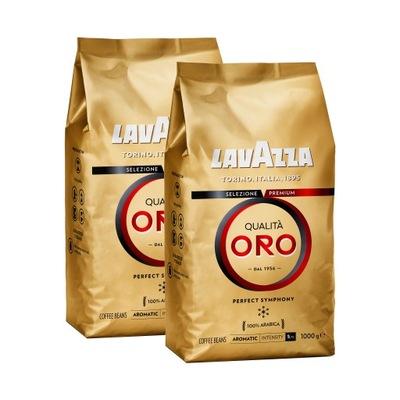 кофе ? зернах Lavazza Qualita Oro 2x1kg