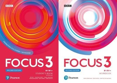 Focus 3 KOMPLET + CD + eBook + eWorkbook 2020