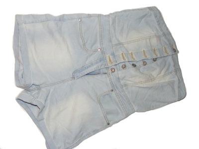 a28510e4f23a27 jeansowy kombinezon na lato - 5612815881 - oficjalne archiwum allegro