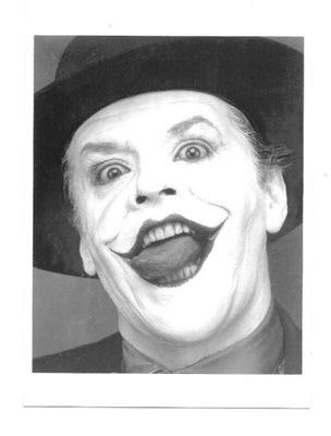 Открытка - Джек Николсон ??? Joker / Бэтмен