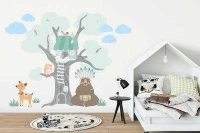 nálepku obtlačky PRE DETI stenu strom 2099