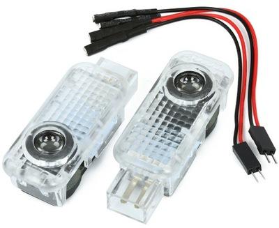 LED LOGO HD PROJEKTOR AUDI A3 A4 A5 A6 A8 Q3 Q5 Q7