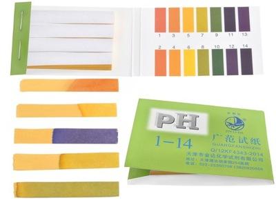 бумажки ?????????? полоски ИЗМЕРЕНИЕ pH ТЕСТ 1 -14 80 ??
