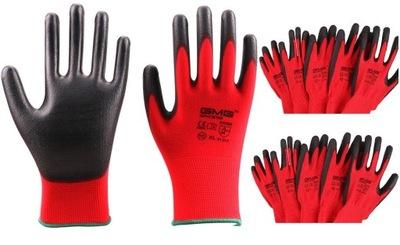 перчатки перчатки рабочие R10 LATEX 12par пакет