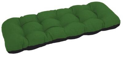 подушка на скамейку садовую качели 180x50 зеленый