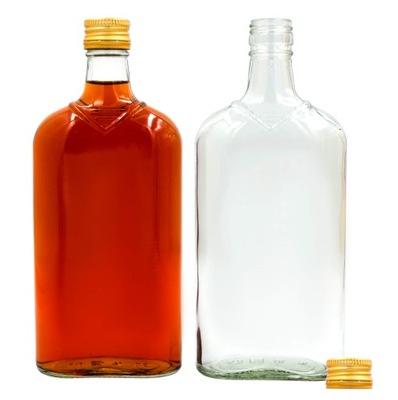 5X бутылка плоская 500 МЛ НАСТОЙКИ вино СОК САМОГОН