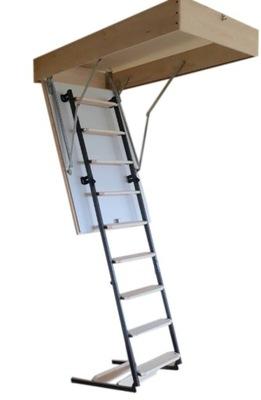 Podkrovné schody, poklop na podkroví 70x100 28 1,1 U