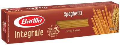 BARILLA SPAGHETTI INTEGRALI макароны из цельного зерна