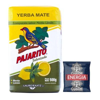 Yerba Mate Pajarito Limon 500 г +Гуарани 50г
