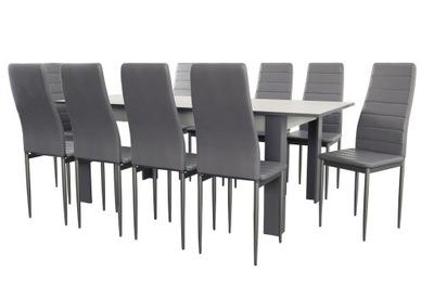 комплект стол 10 стульев K -90 стол instagram