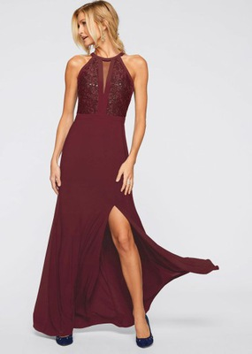 6a112f9de2 sukienka sexy maxi czerwień S M - 7459042300 - oficjalne archiwum ...