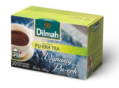 Dilmah пуэр Dynasty 20x1,5г красная чай