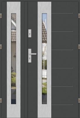 двери двустворчатые ТУЛУЗА DUO