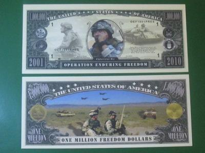 ??? Купюра 1000000 Долларов Война в Афганистане