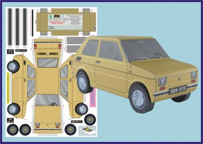 Модель для dzieci_Fiat 126p _ExtraModel