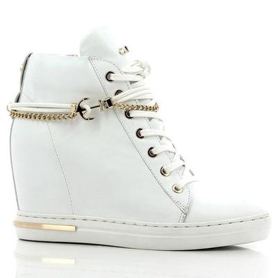 Sneakersy Carinii 5264 Białe