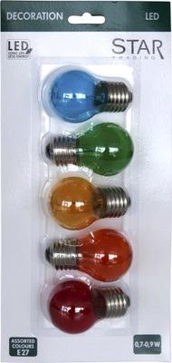 комплект ламп ??? гирлянд FILAMENT LED 5 цвета