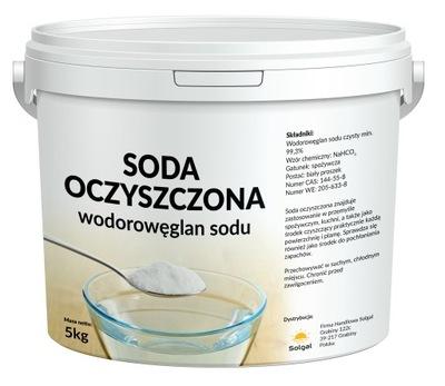 Пищевая СОДА, Пищевая Бикарбонат Натрия 5кг