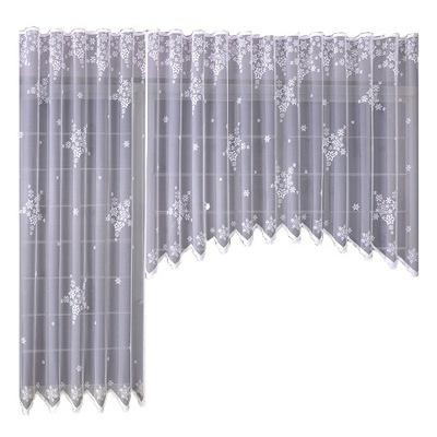 SNEHU záclony Balkón nastaviť sviatok Vianočný