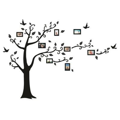 наклейки__ на_ стену instagram Дерево клетки 181x260